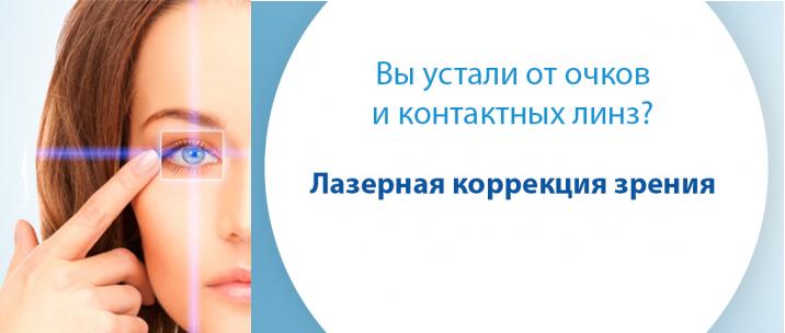 Стратегия выбора: очки, контактные линзы или лазерная коррекция зрения? Взвешиваем все ЗА и ПРОТИВ