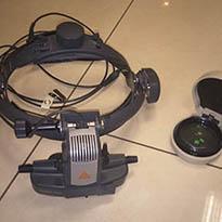Бинокулярный офтальмоскоп скепенс