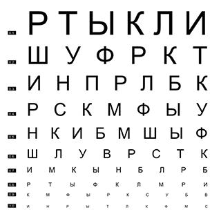 Проверка зрения on-line